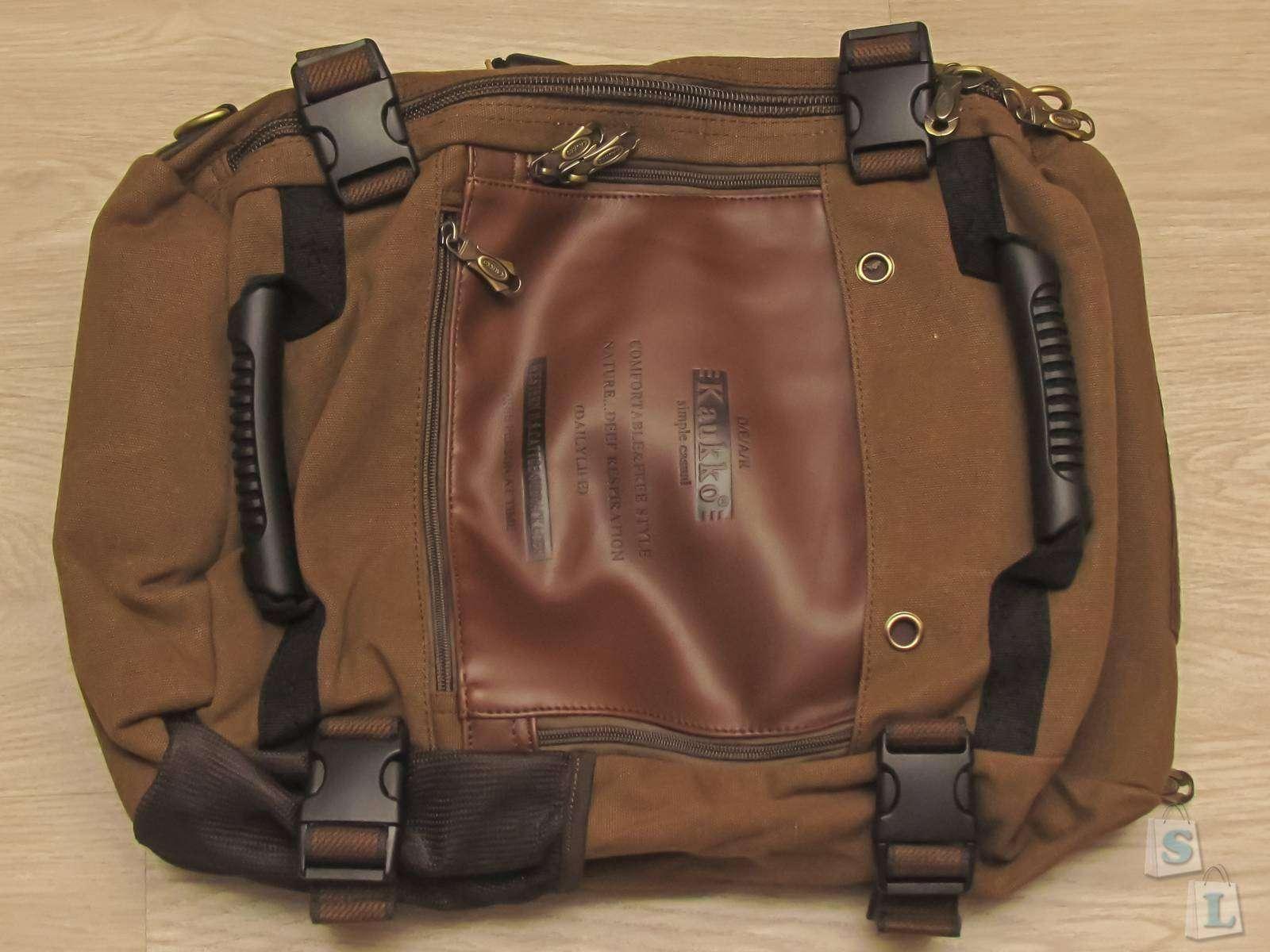 EverBuying: Обзор KAUKKO - городского рюкзака - трансформера, на 18 литров