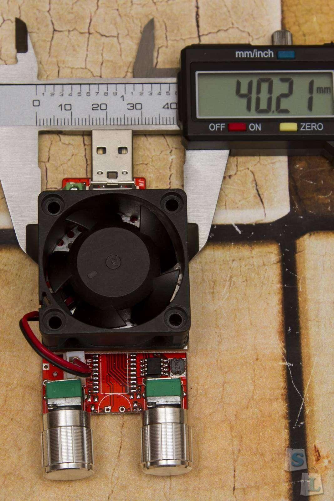 Aliexpress: Регулируемая электронная нагрузка JUWEI - 3-20V, 0-4A, 20 Вт