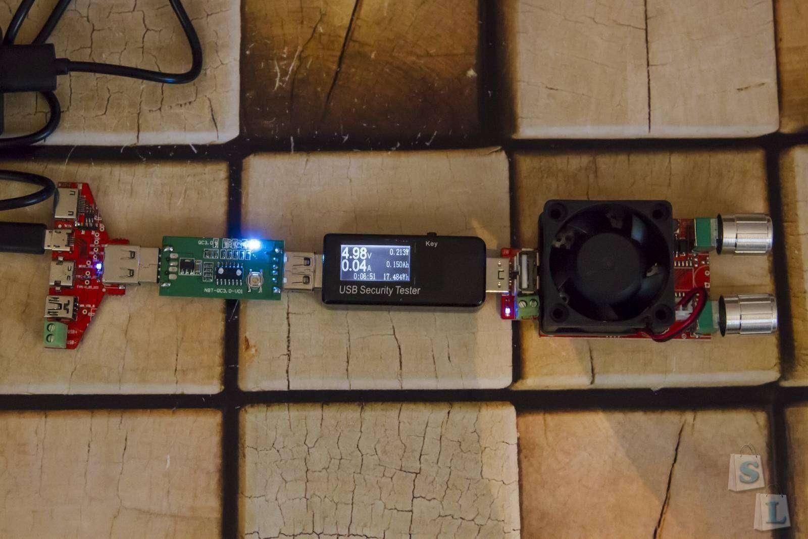 Aliexpress: Набор USB интерфейсов JUWEI для тестов кабелей, и всего чего угодно