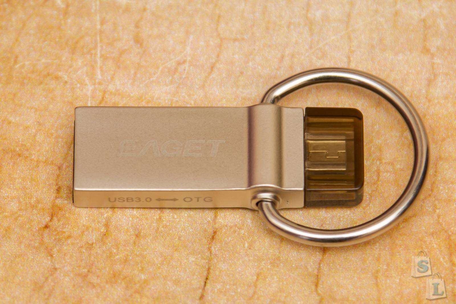 GearBest: Удобная флешка USB 3.0 Eaget 16GB с OTG