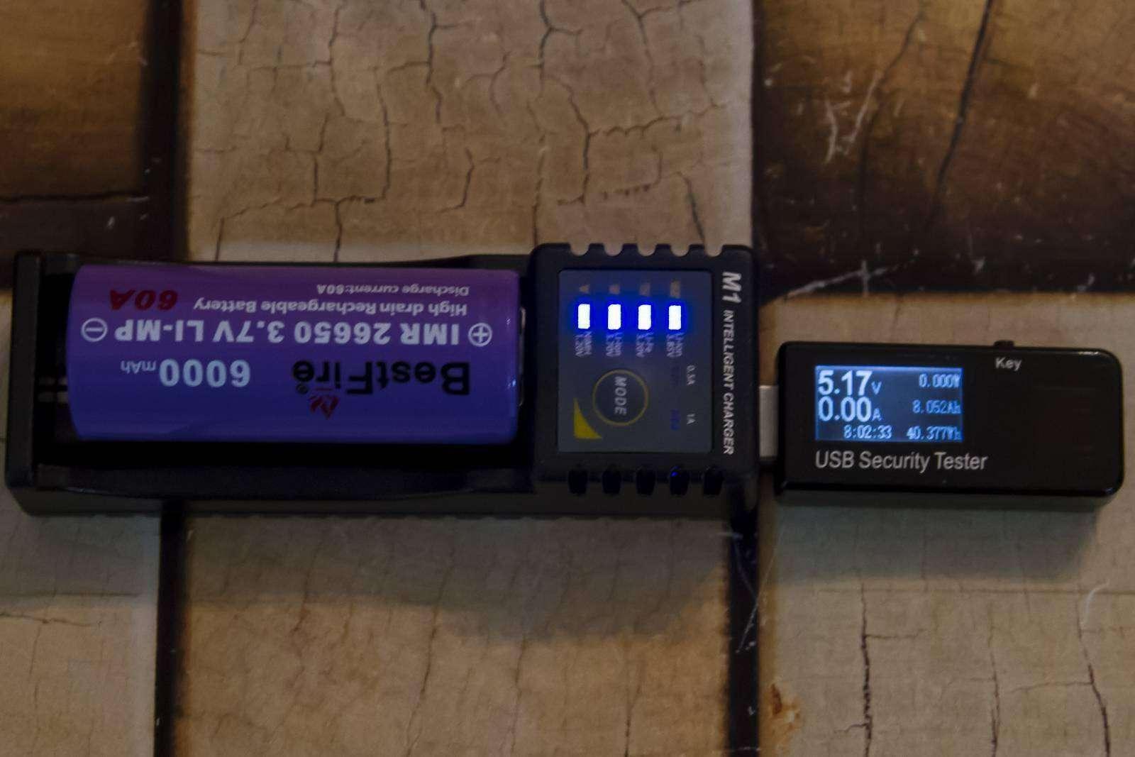 GearBest: Недорогие домашние зарядки, часть 3 - Skilhunt M1