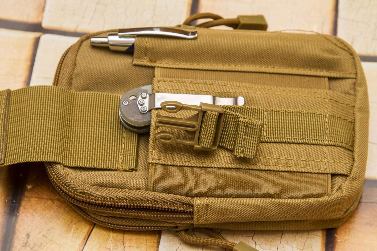 Aliexpress: Поясная тактическая сумка
