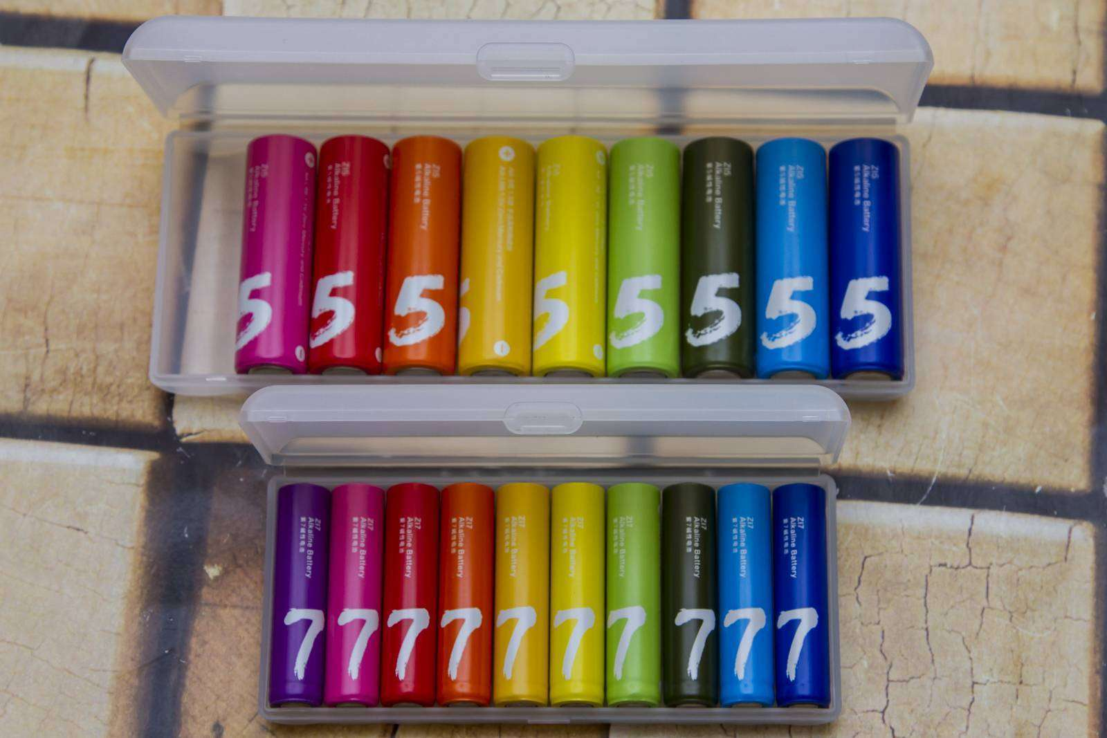 GearBest: Тестирование ААА батареек Xiaomi Zi7 Rainbow