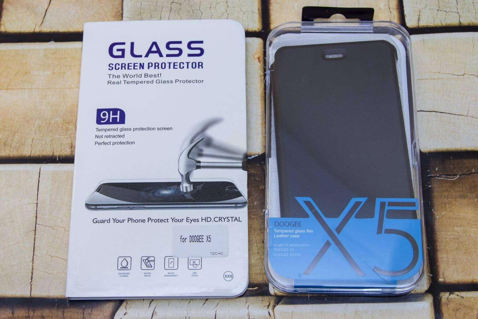 GearBest: Чехол и стекло для DOOGEE X5 PRO и доставка Новой Поштой из Китая