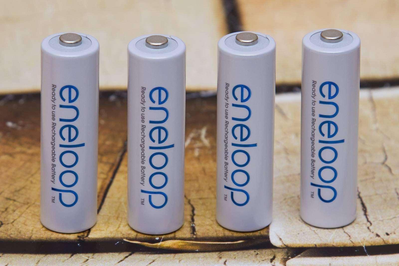 GearBest: Аккумуляторы Panasonic Eneloop NiMH, AA, 1900mAh