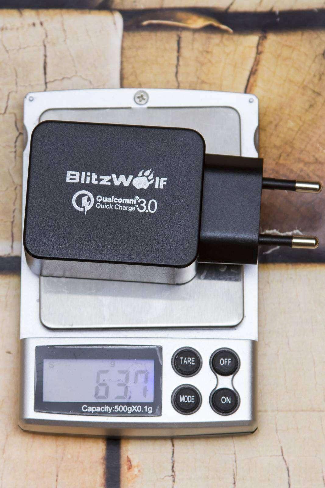 Banggood: Отличная зарядка с поддержкой Quick Charge 3.0 - BlitzWolf® BW-S5