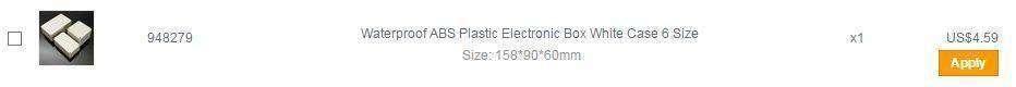 Banggood: Водонепроницаемый пластиковый бокс