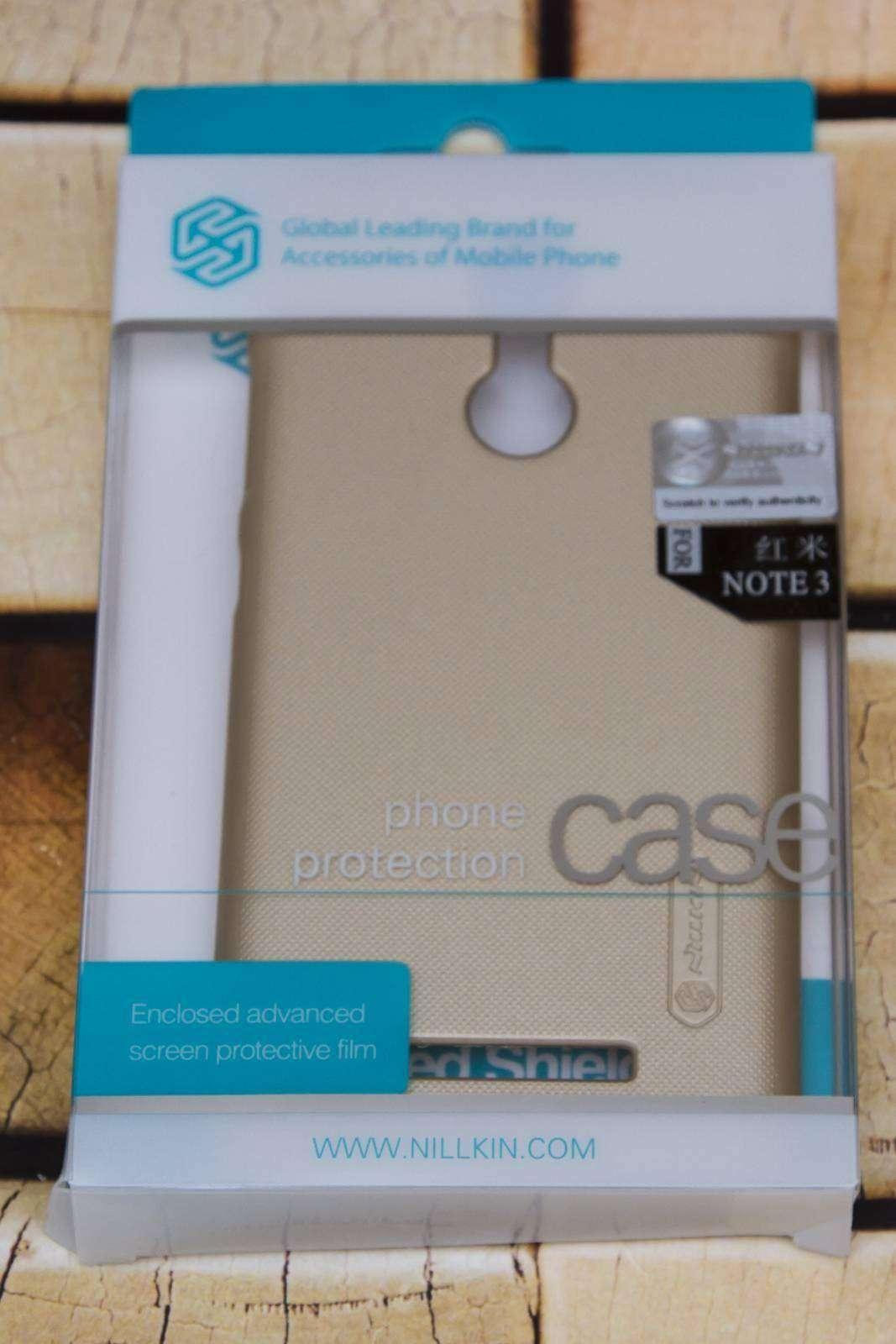 Banggood: Бампер NILLKIN Frosted Shield для Xiaomi Redmi Note 3