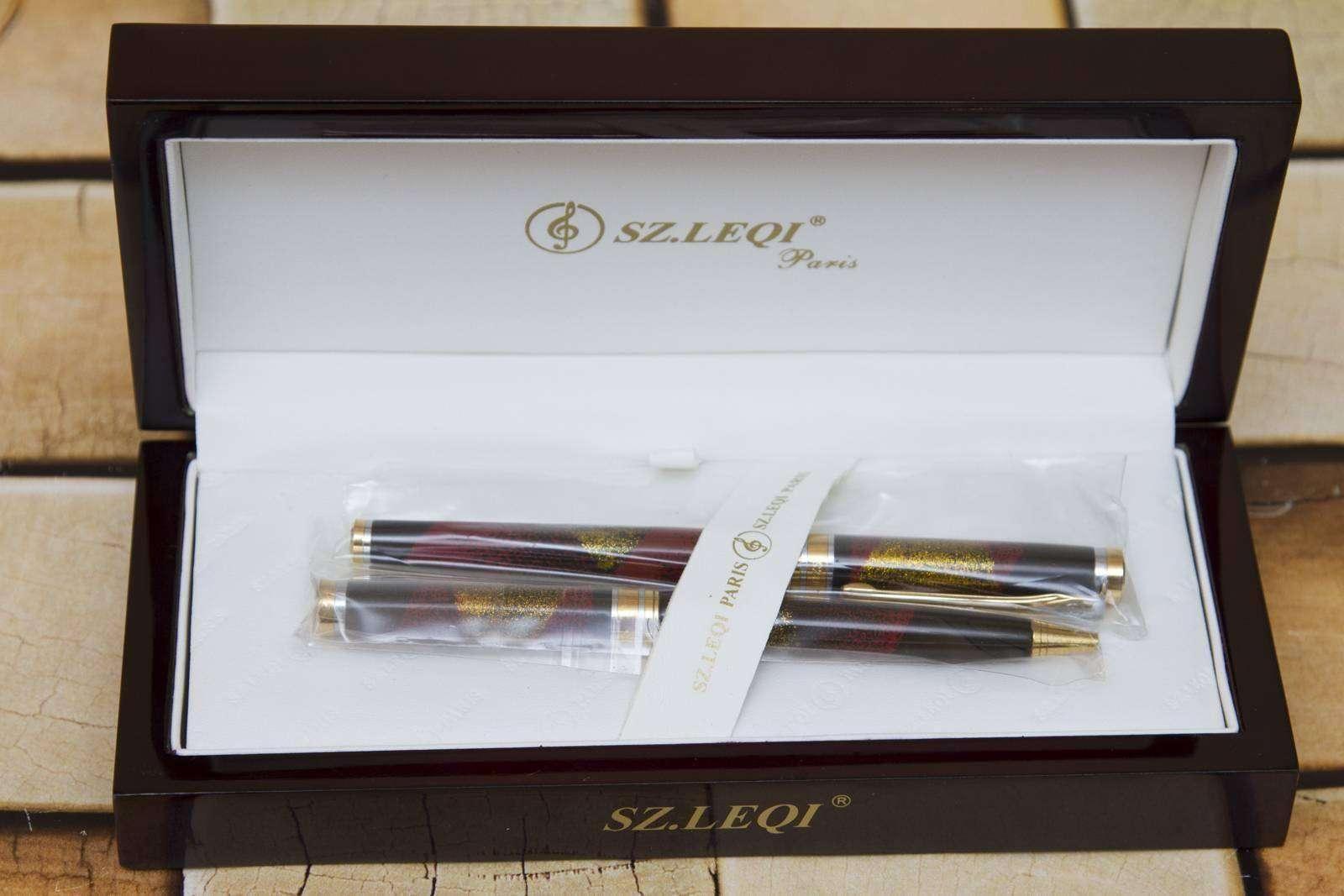 Другие - Украина: Подарочный набор ручек SZ.Leqi Paris - BF 600 H1