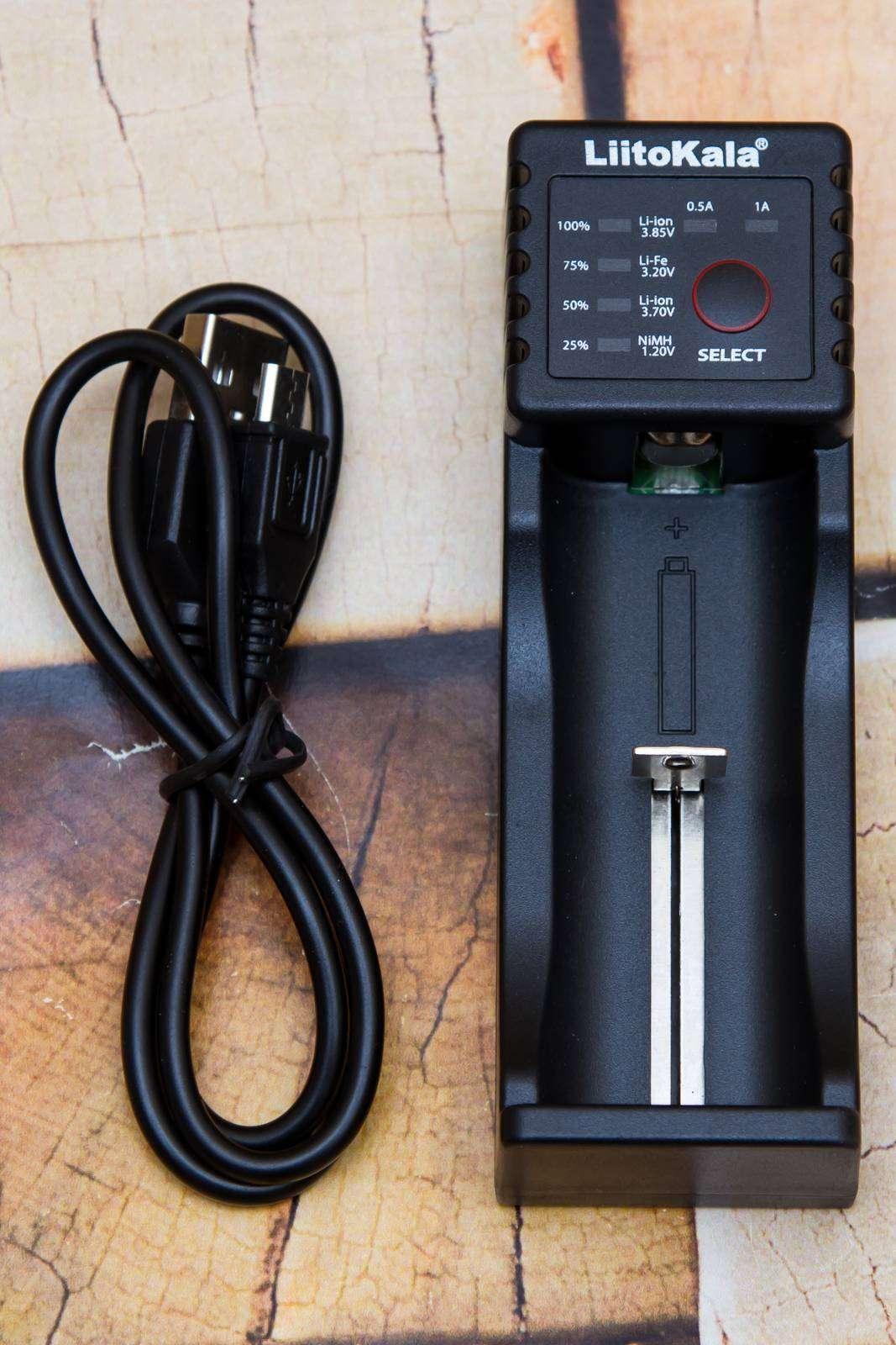 GearBest: Недорогие домашние зарядки, часть 9 - Liitokala Lii - 100
