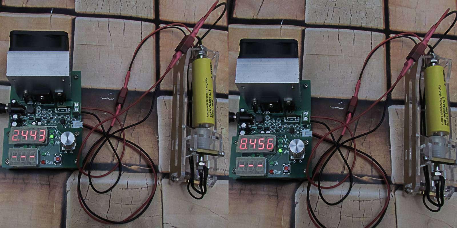 GearBest: Обзор и тестирование высокотоковых аккумуляторов AWT 2600mAh, 40A, желтые