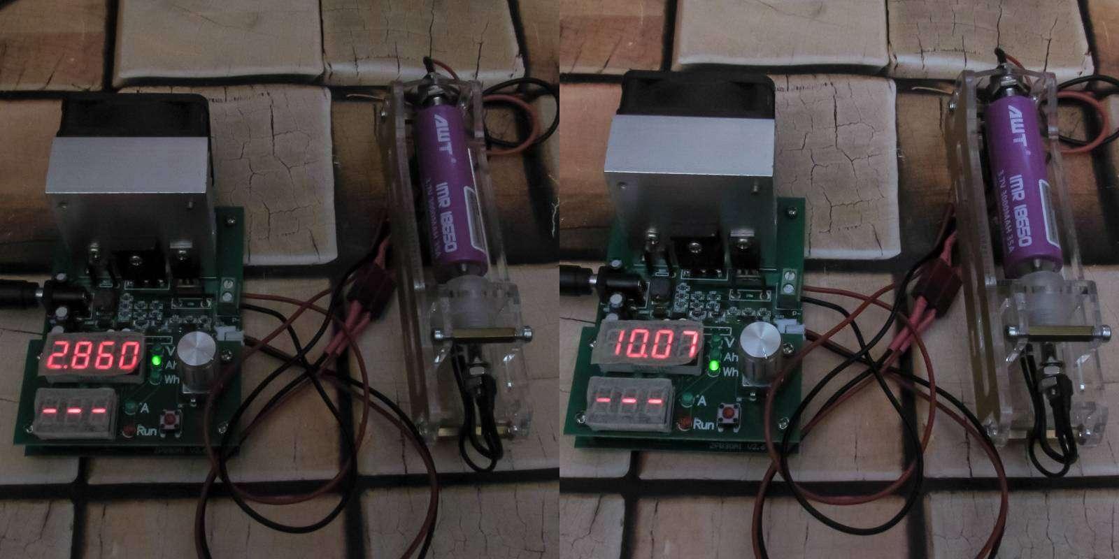 GearBest: Обзор и тестирование высокотоковых аккумуляторов AWT 3000mAh, 35A, фиолетовые