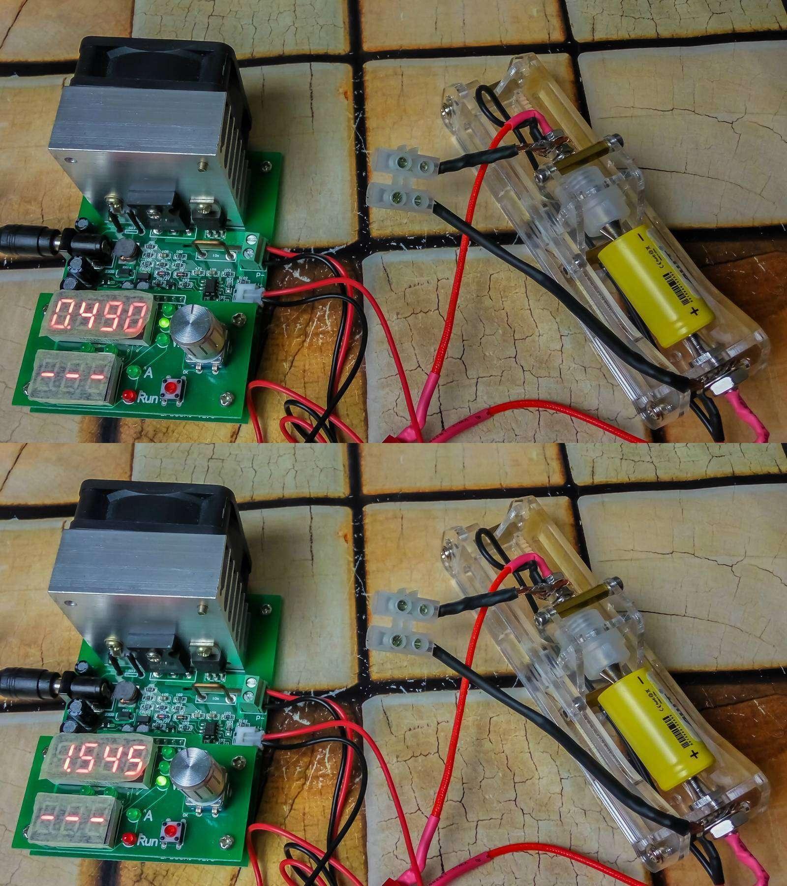 GearBest: Аккумуляторы 18350 от AWT, 800mAh и 10,5 А - так ли это, проверим