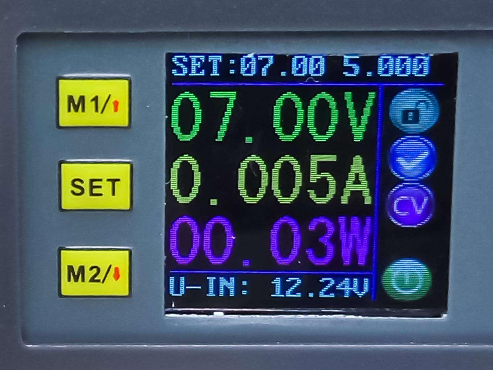GearBest: Обзор DP50V5A - управляемого DC-DC конвертера с экраном и ячейками памяти