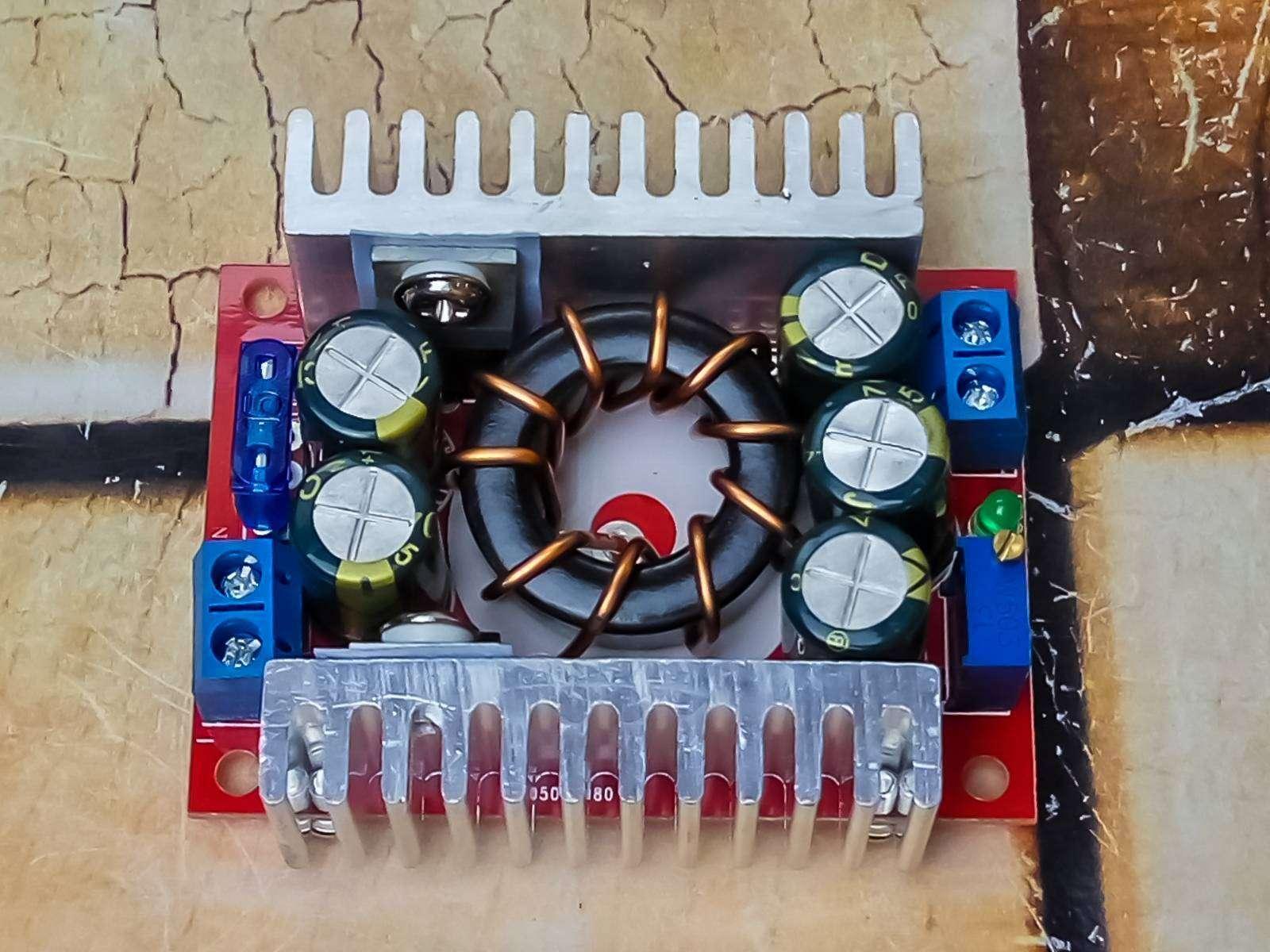 GearBest: Обзор DC-DC конвертера Jtron на 1.2-32 В и 15 А