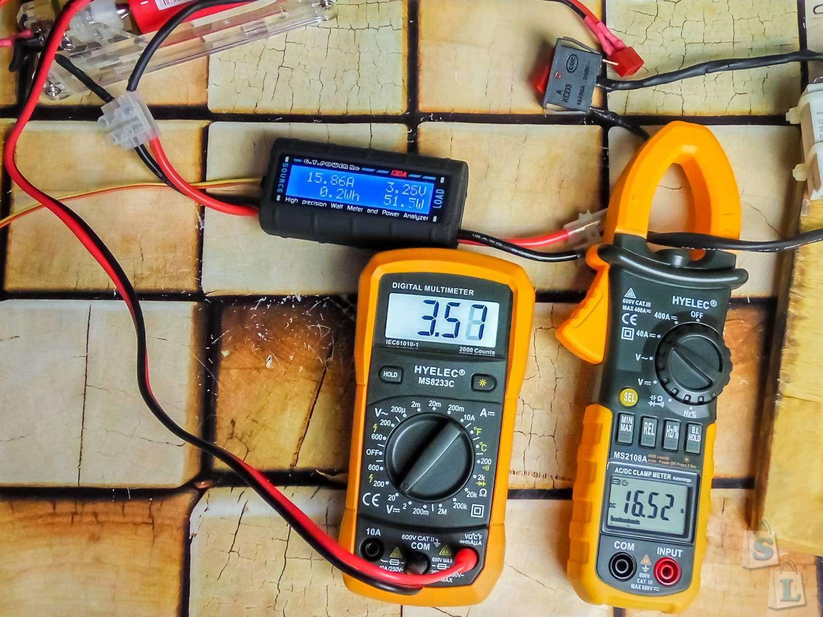 Aliexpress: Измеритель мощности Gtpower RC, 60 В 130 А
