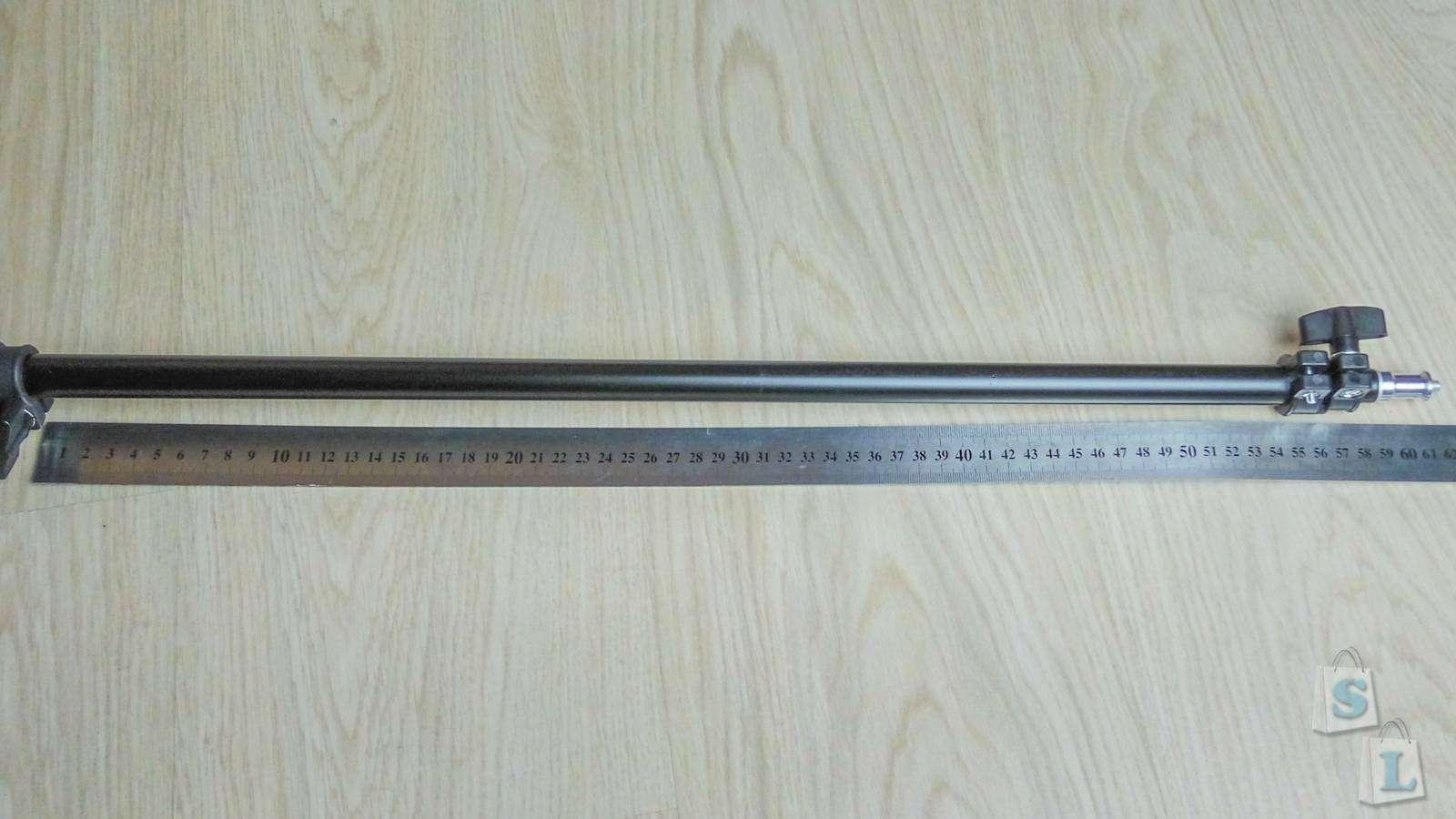 Banggood: Обзор фото стойки для света, высота 2.40 метра