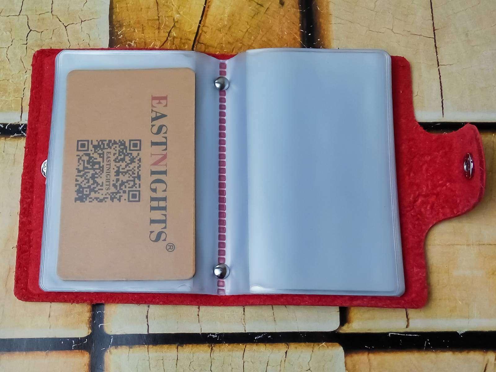 Aliexpress: Недорогая красная визитница - карточница и долгая доставка