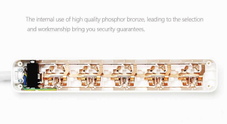 GearBest: Удлинитель Xiaomi на 5 универсальных розеток