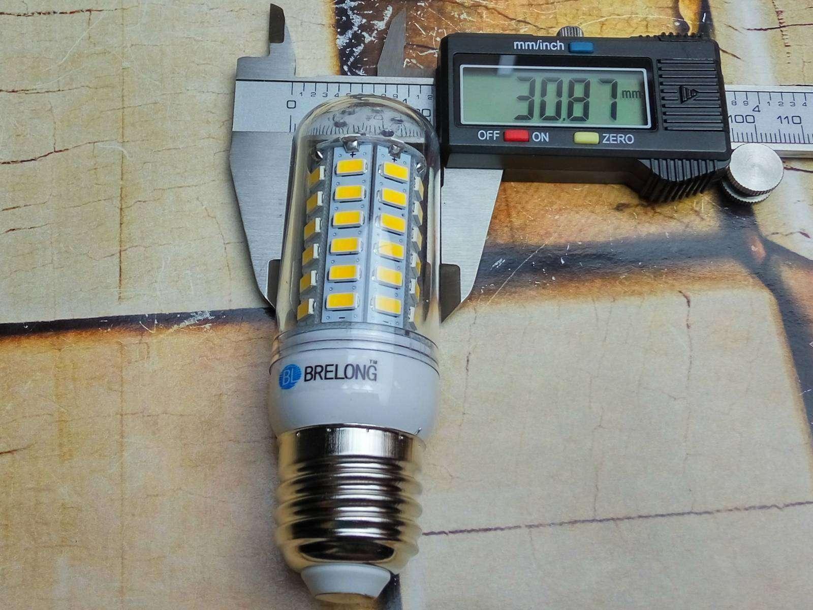 GearBest: Обзор LED ламп - кукуруз от BRELONG