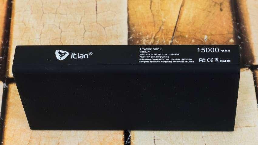 GearBest: Обзор и тестирование powerbank Itian A1 15000 mah QC3.0