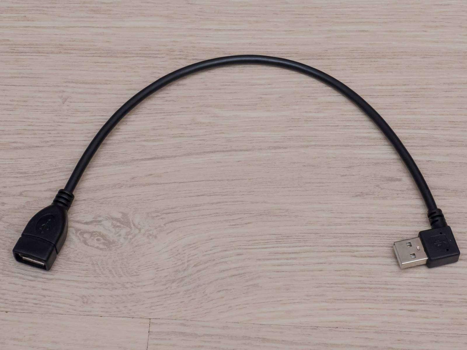 Aliexpress: Угловой USB удлинитель