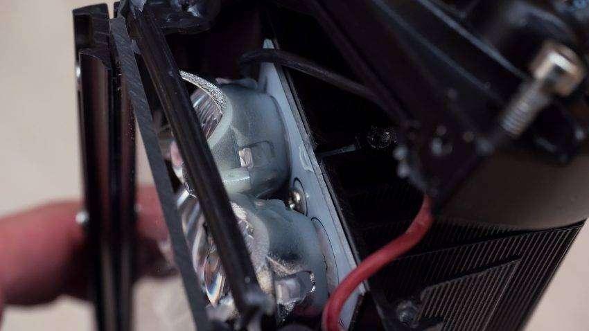 Aliexpress: LED фара weketory 5D на крышу автомобиля или катера, 22 дюйма - 86 Ватт