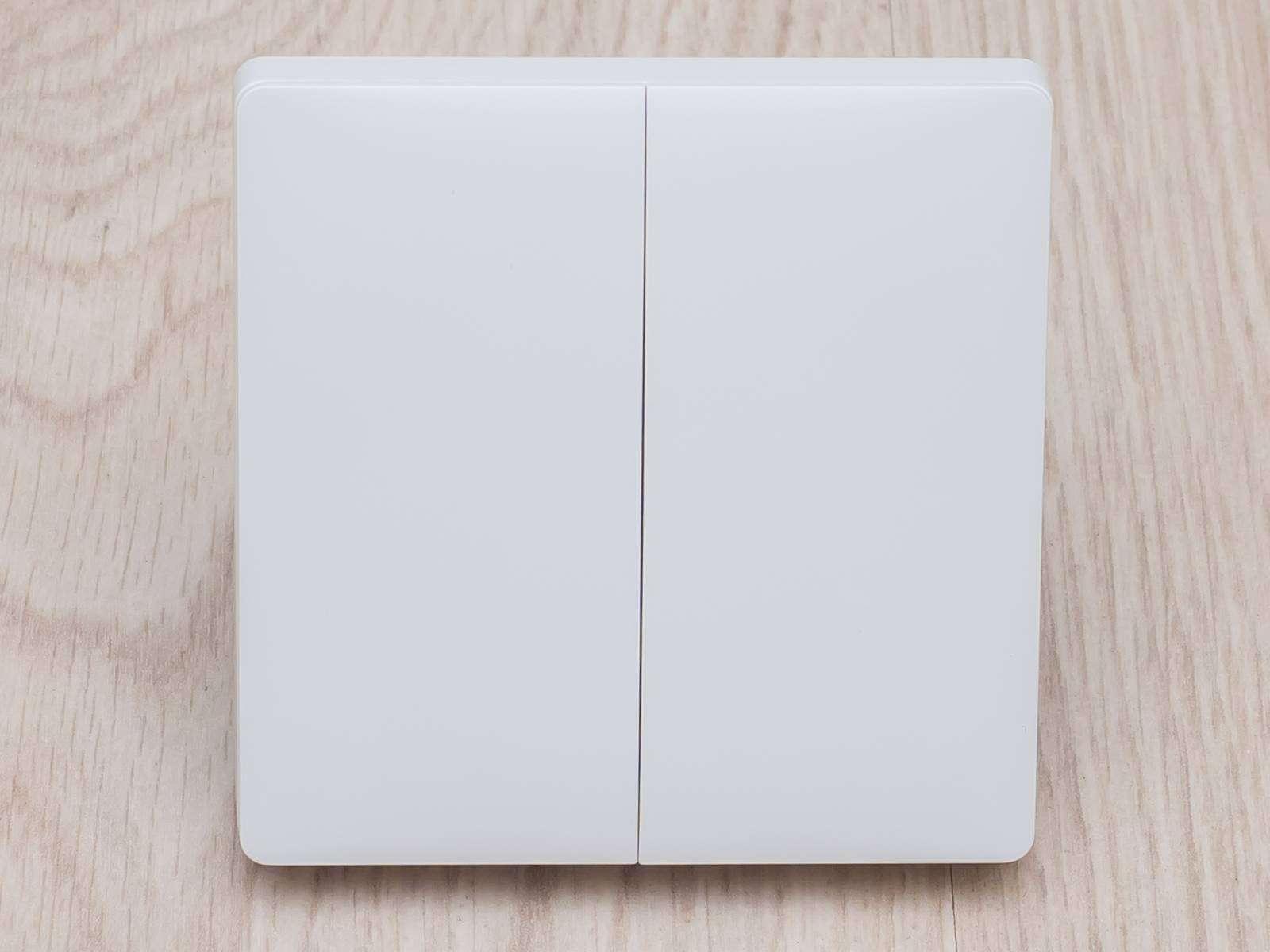 Aliexpress: Двухкнопочный встраиваемый проводной выключатель Aqara для системы Xiaomi Mi Home