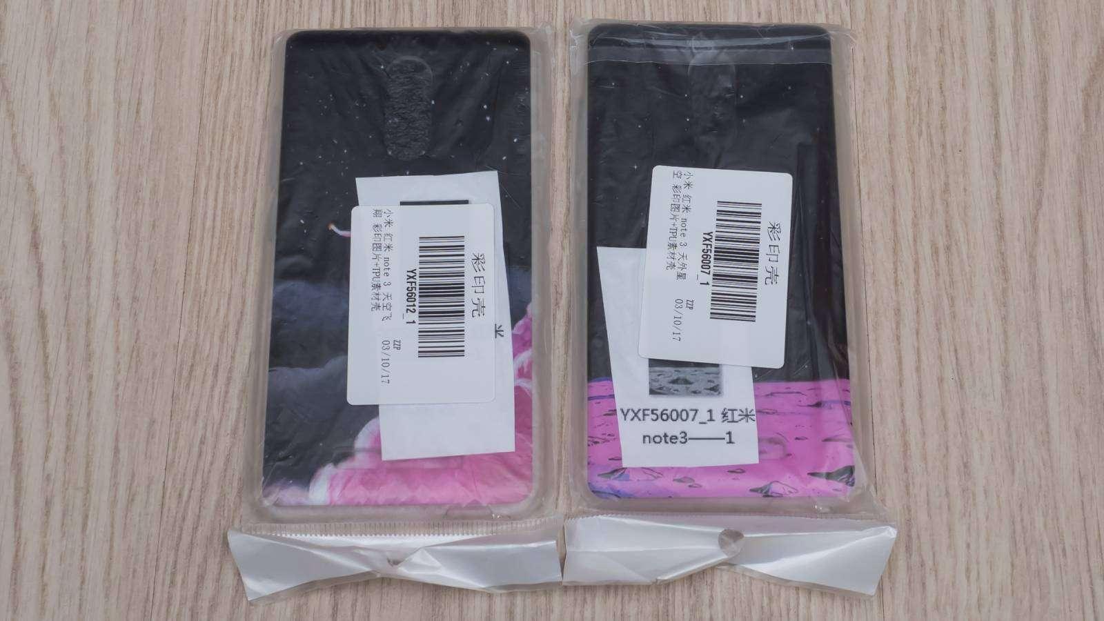Aliexpress: Пара силиконовых бамперов для Xiaomi Redmi Note 3
