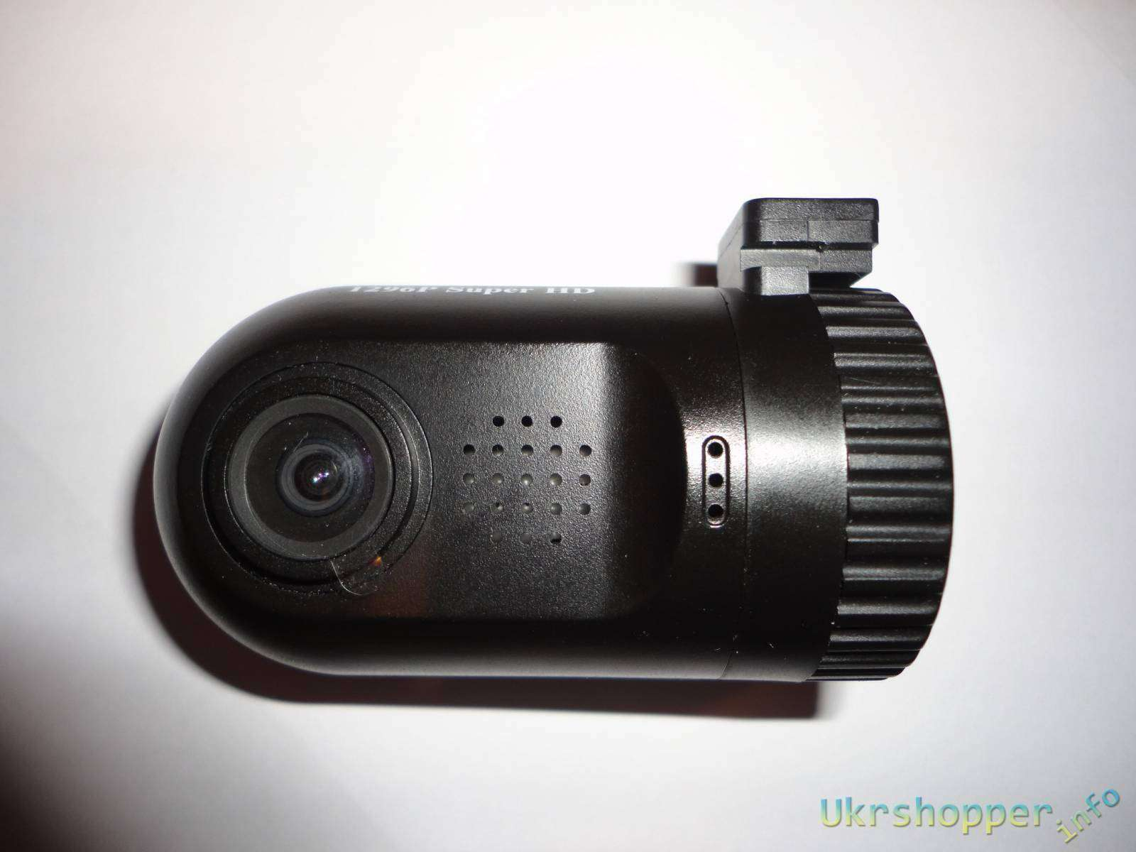 GearBest: MINI 0805 - 2K регистратор с GPS, LDWS, FCWS