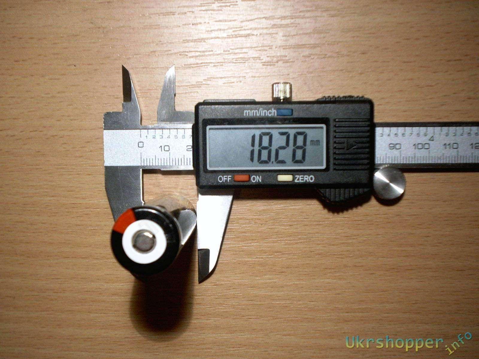 CninaBuye: TrustFire 18650 2400mAh, коротко, но как в аптеке.