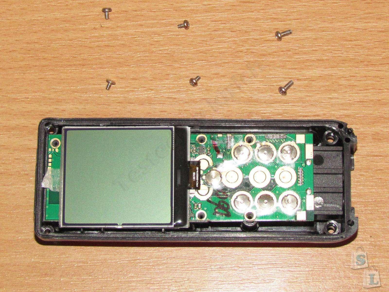 EachBuyer: RZD-60 Лазерный дальномер на 60 метров, мал да удал.