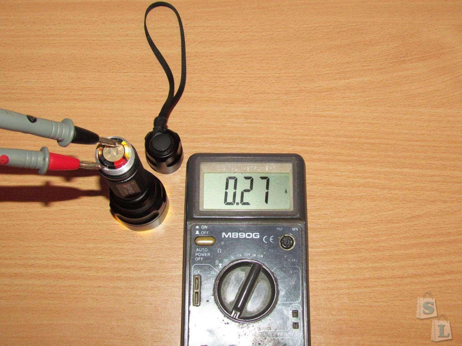 ChinaBuye: UltraFire C2 Cree XR-E, или просто средний фонарик который думает, что он дальнобой.