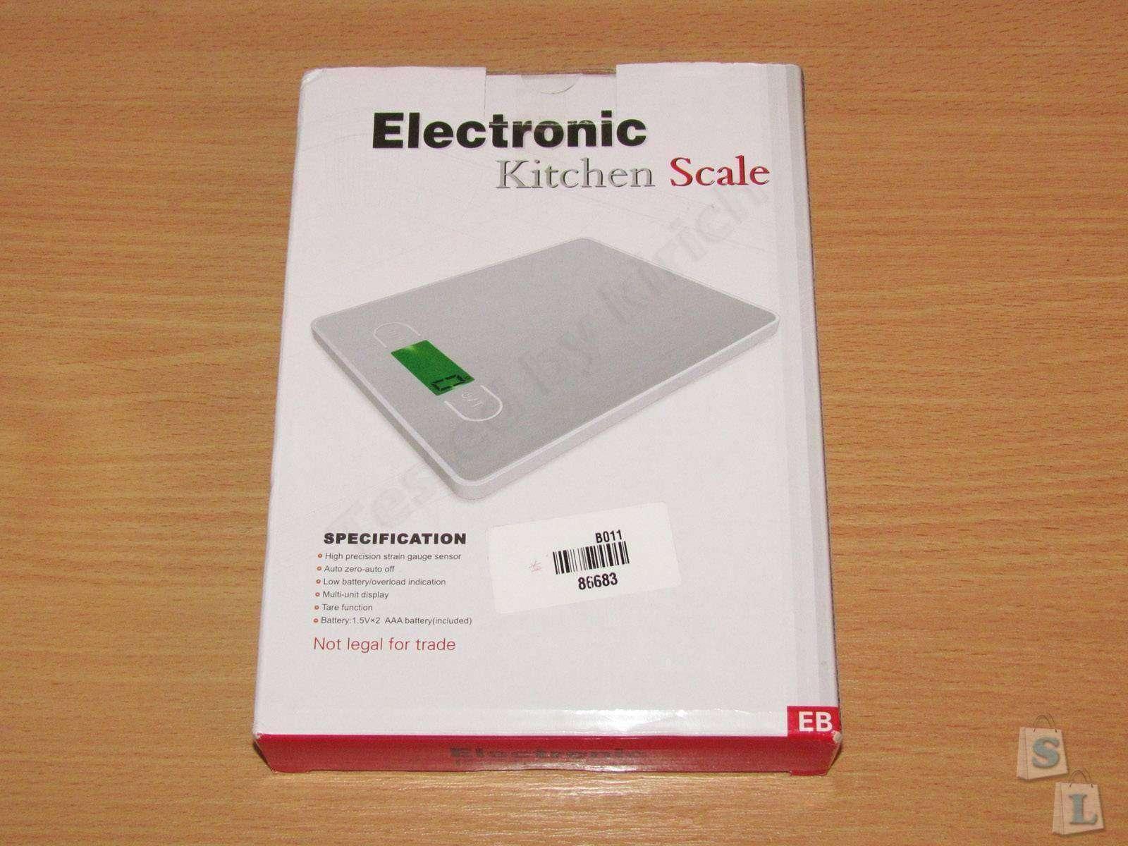 ChinaBuye: Еще одни кухонные электронные весы.