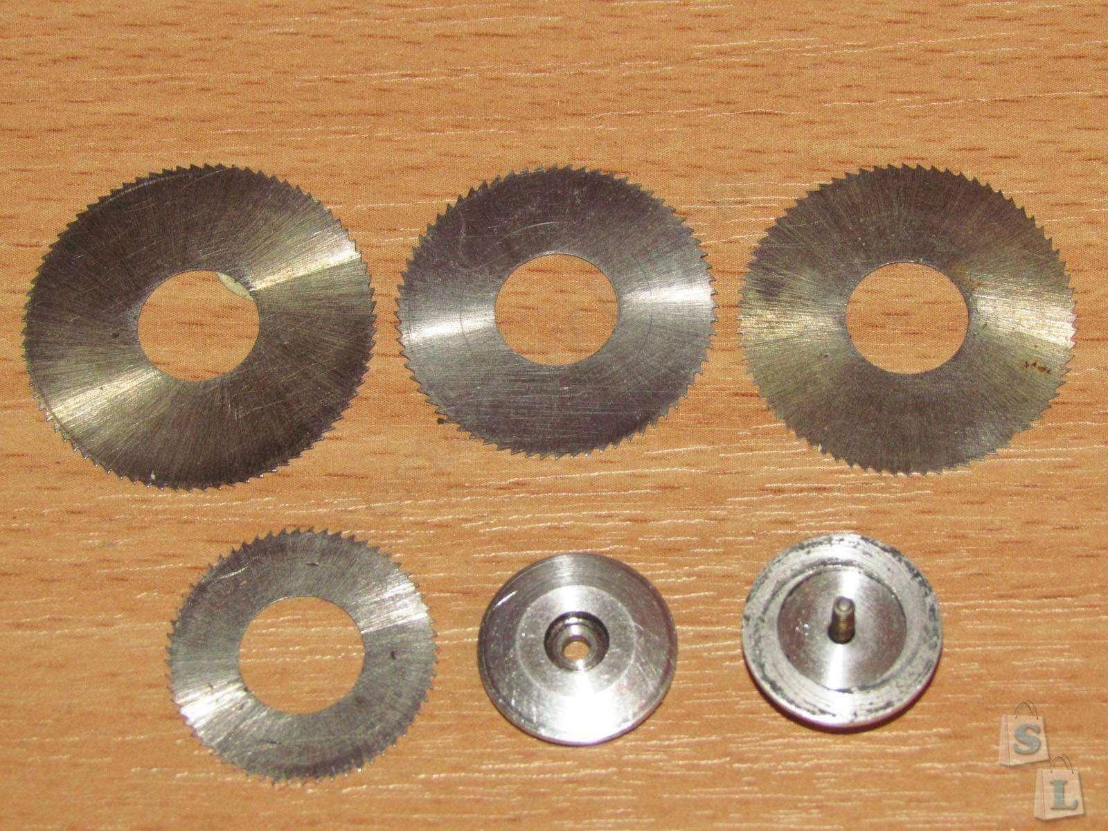Tmart: Набор всяких насадок для ручной шлифовальной машинки.