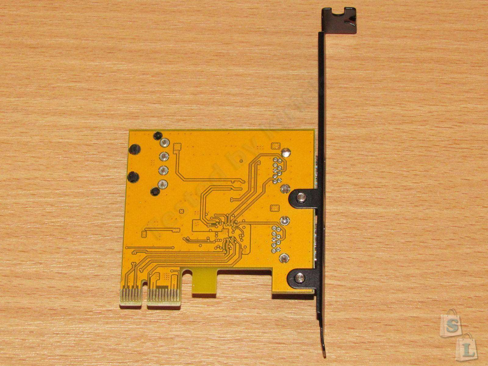 ChinaBuye: ORICO PFU3-2P. Двухпортовая PCI-Express USB 3.0 карта.