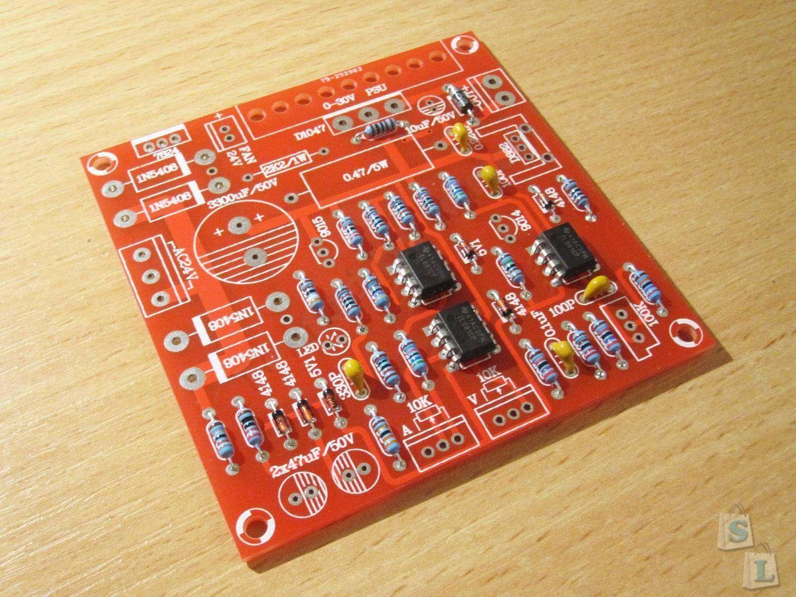 бп от 0 до 30 вольт и ток от 0 до10 ампер схема