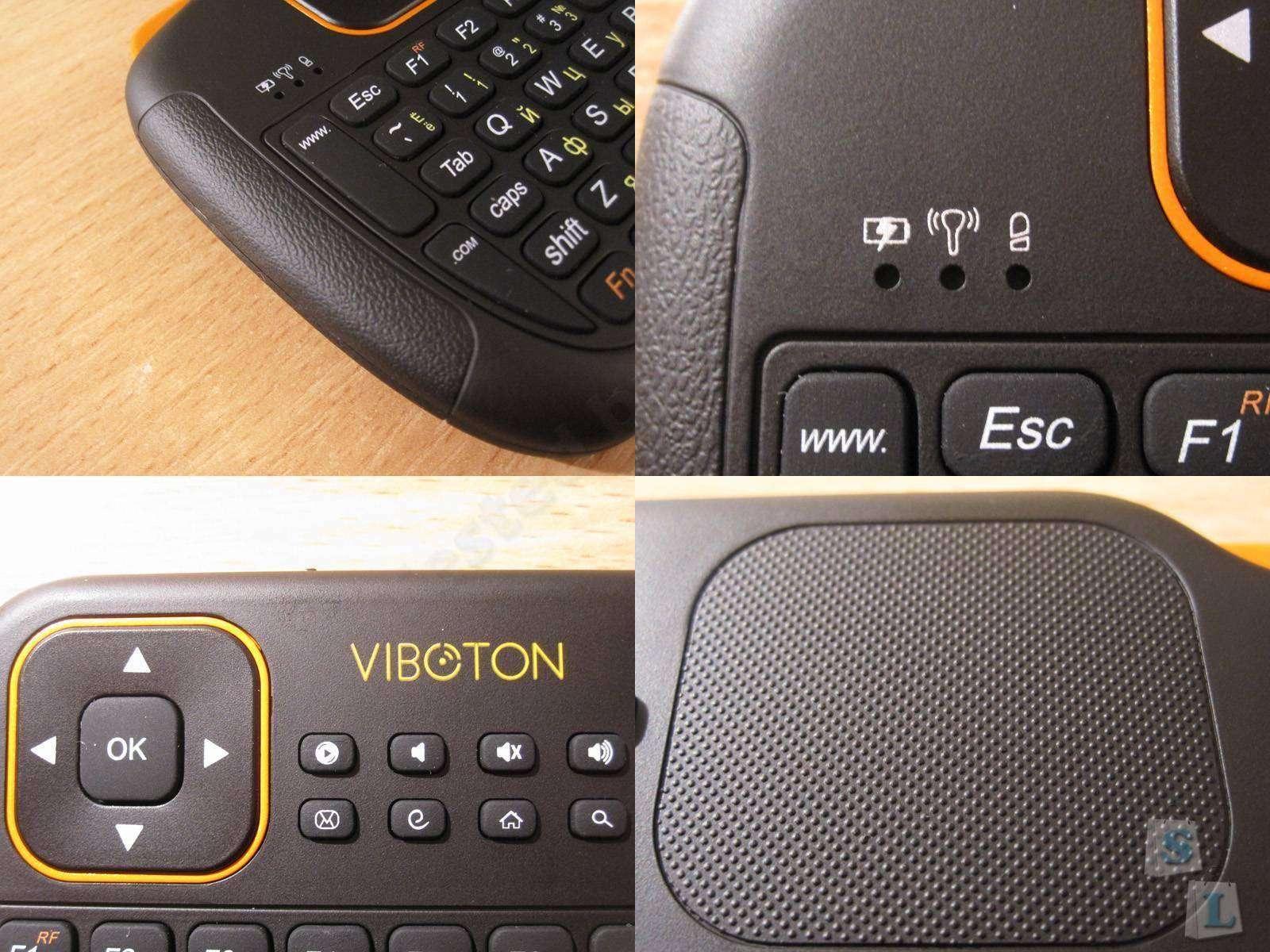 GearBest: Viboton S1, неплохая маленькая радио клавиатура, с русской раскладкой