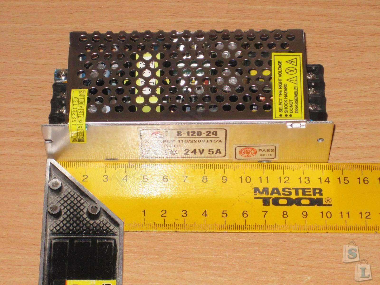 GearBest: Блок питания 24 Вольта 5 Ампер, плюс 1 Ампер в подарок :)