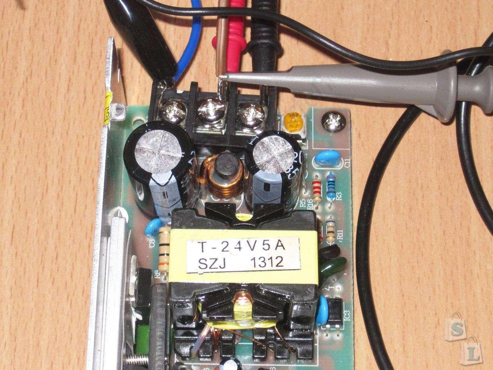 Блок питания 24 вольта 2 ампера