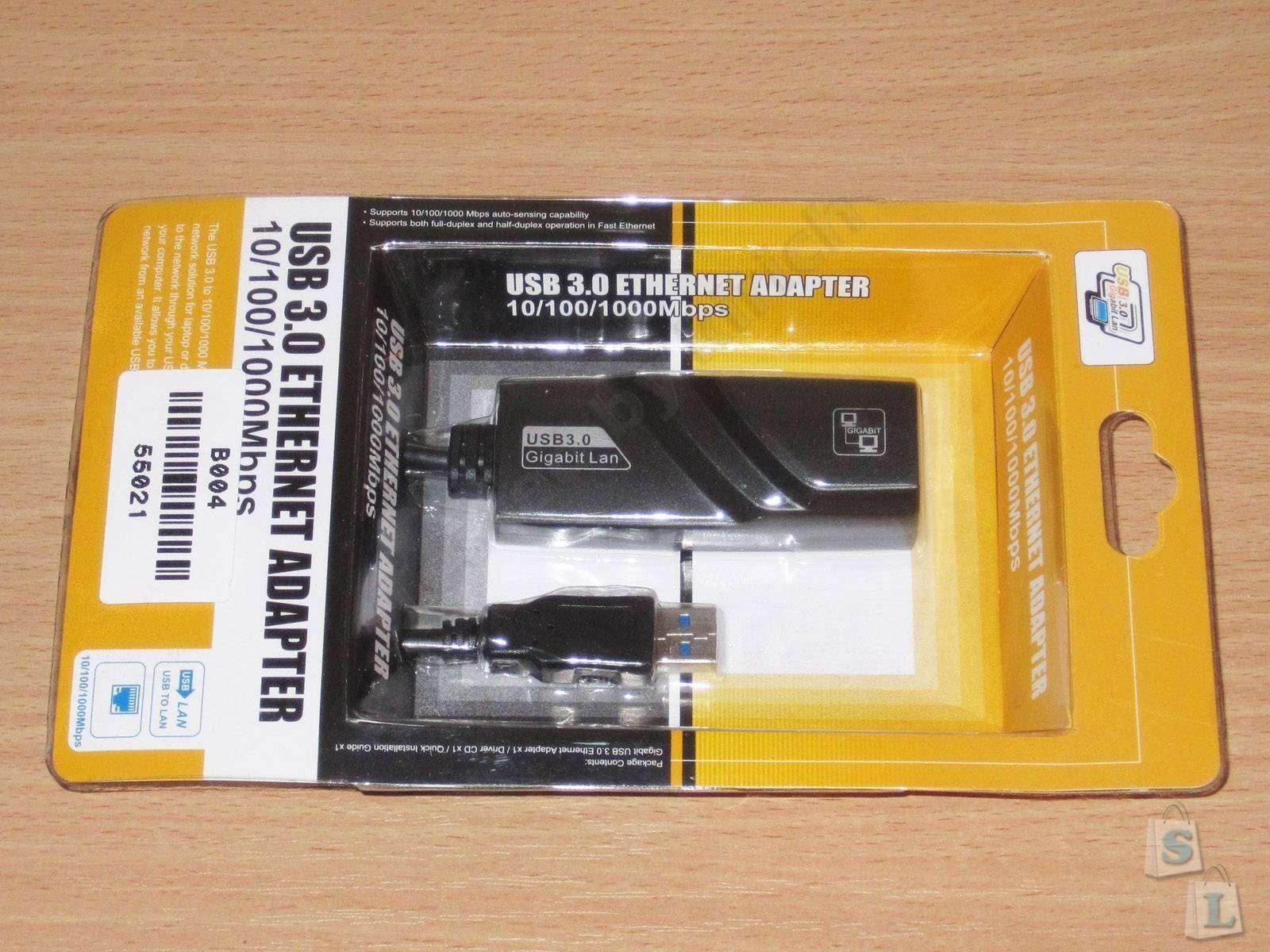 ChinaBuye: USB 3.0 Gigabit сетевая карта