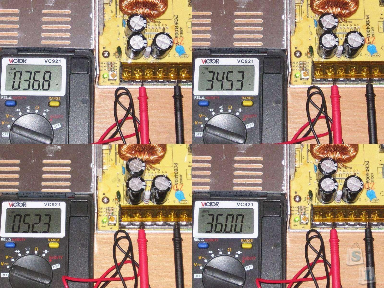 GearBest: 36 Вольт 10 Ампер 360 Ватт или продолжаем изучать как устроены блоки питания + небольшой бонус