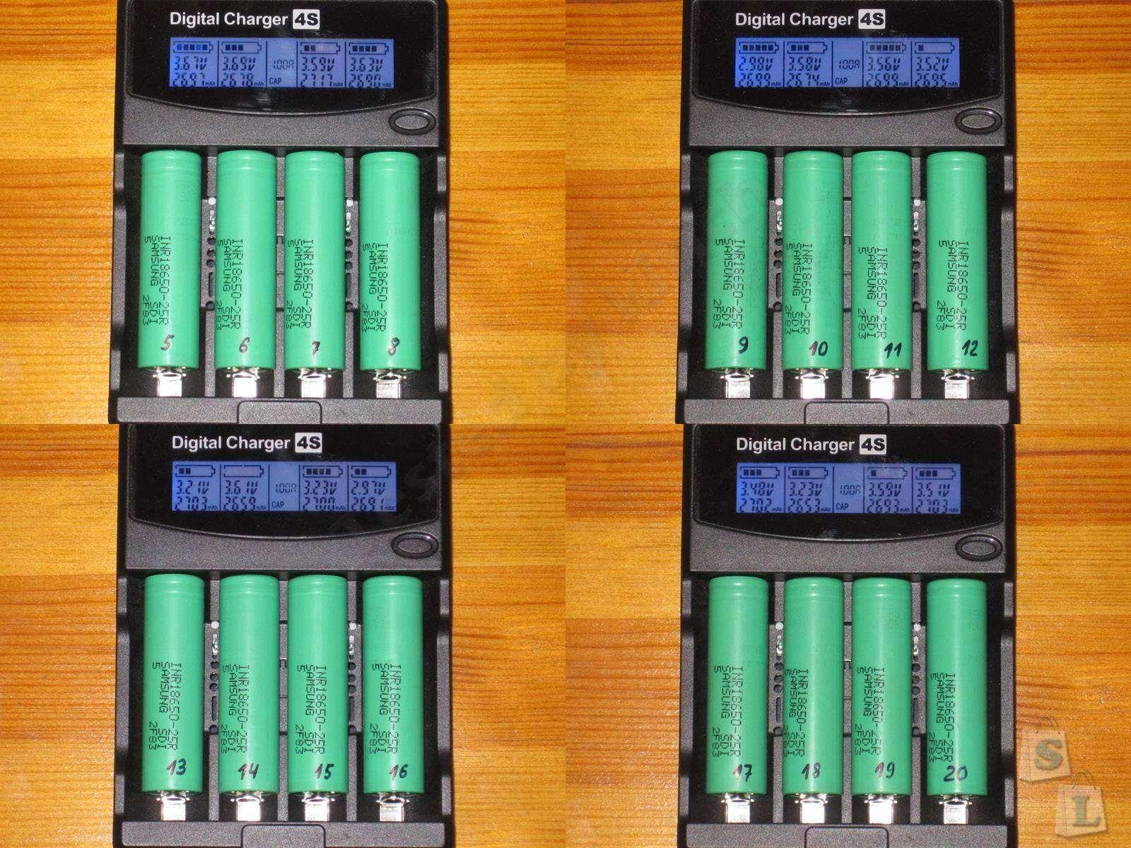 GearBest: INR18650 - 25R тест и небольшая история одного заказа