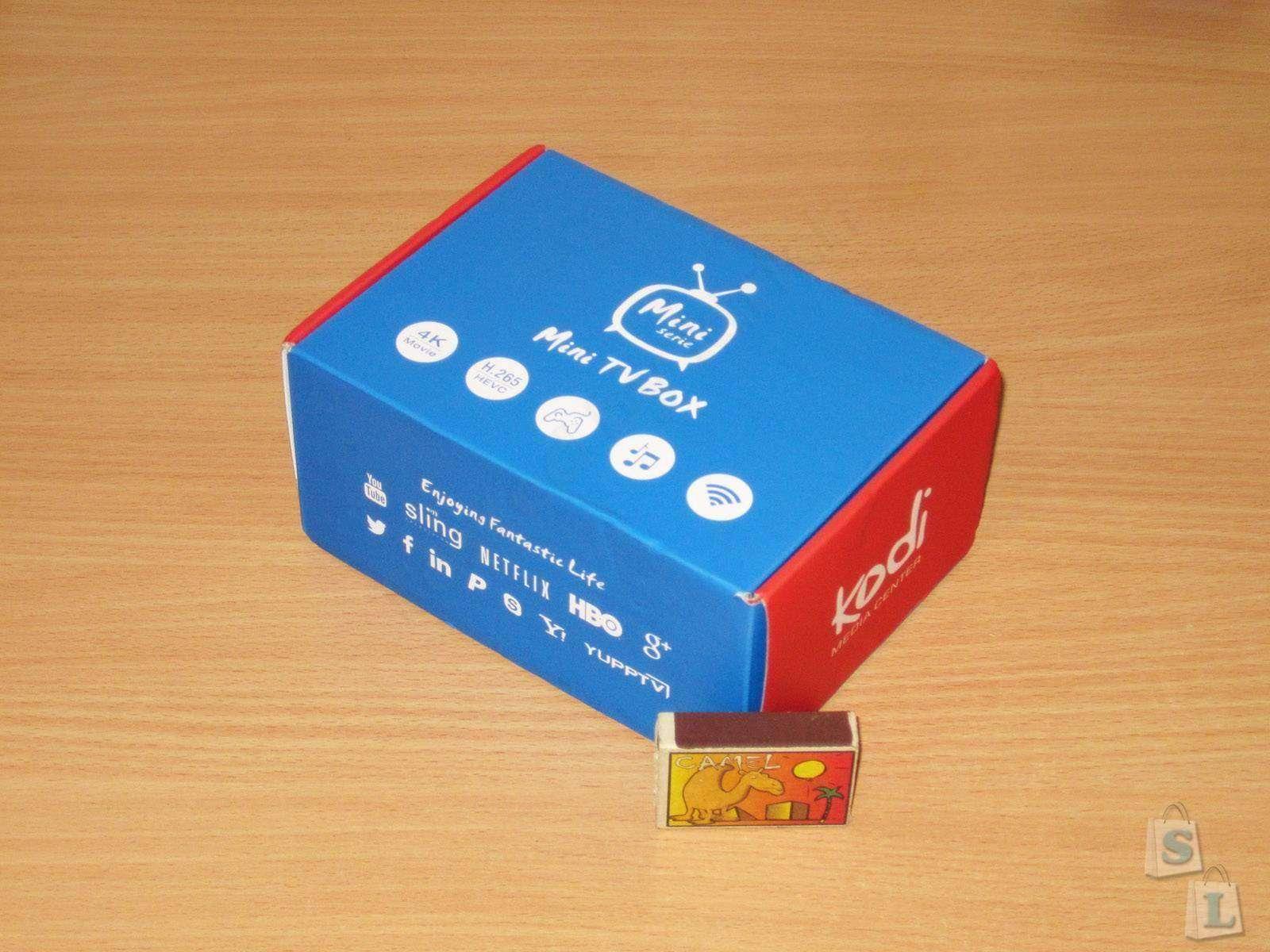 GearBest: Mini M8S, неплохой маленький ТВ бокс на Amlogic S905
