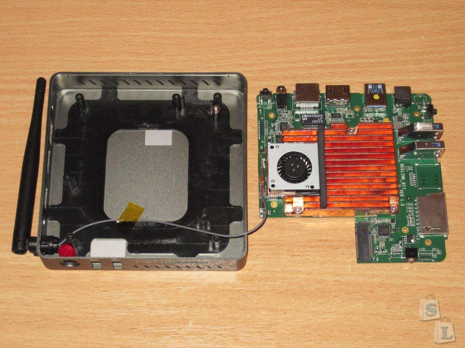 GearBest: Beelink BT7, маленький компьютер на базе Atom X7-Z8700