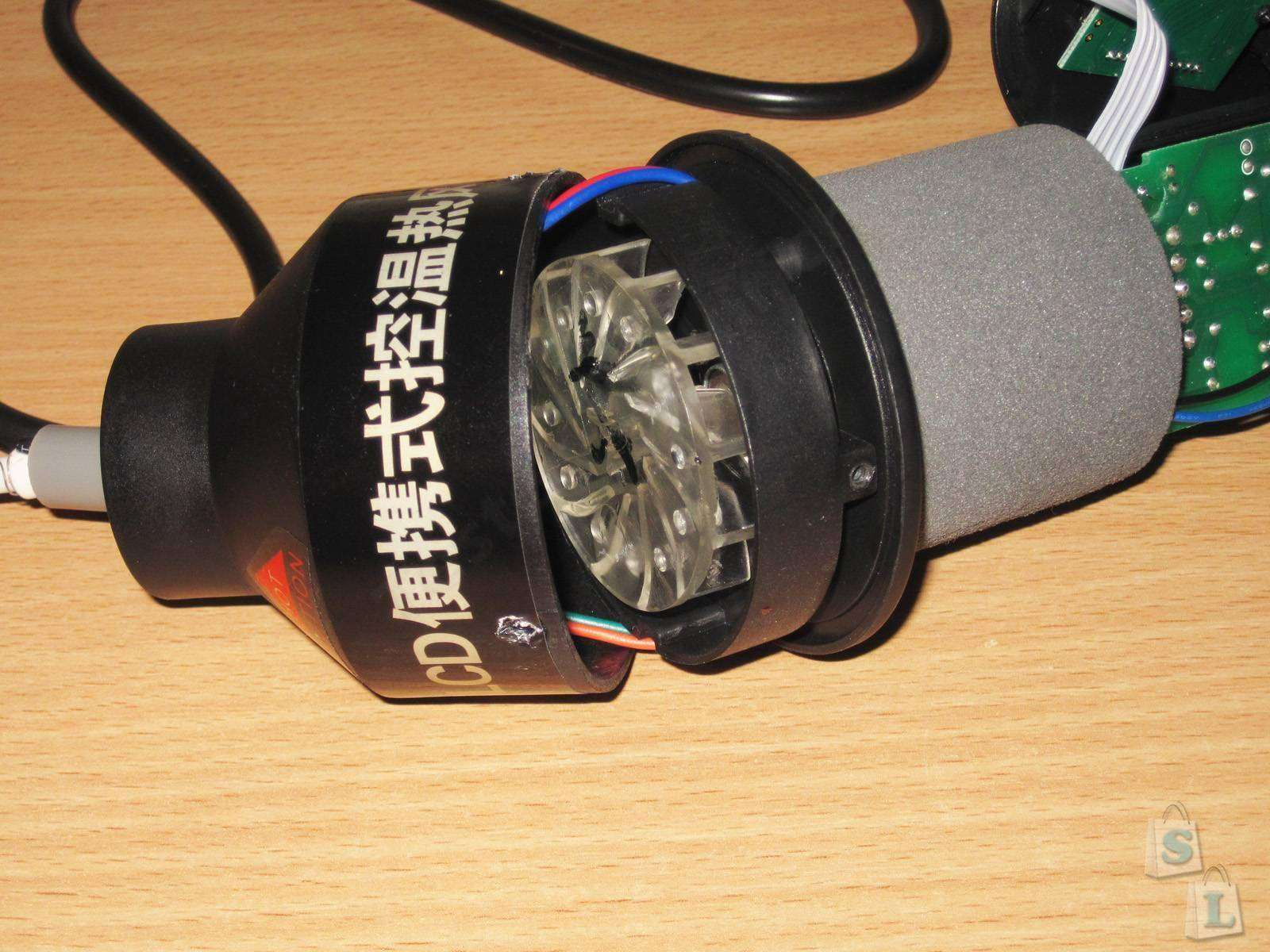 GearBest: GJ-8018LCD простой термофен и небольшое сравнение