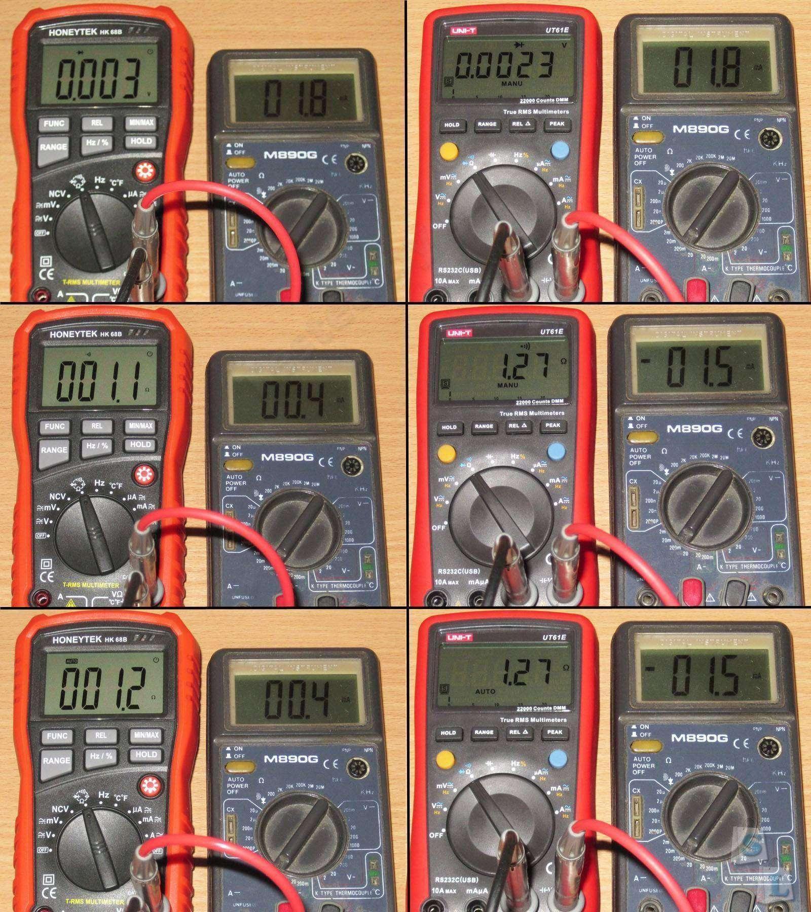 GearBest: Мультиметры, такие одинаковые и при этом такие разные