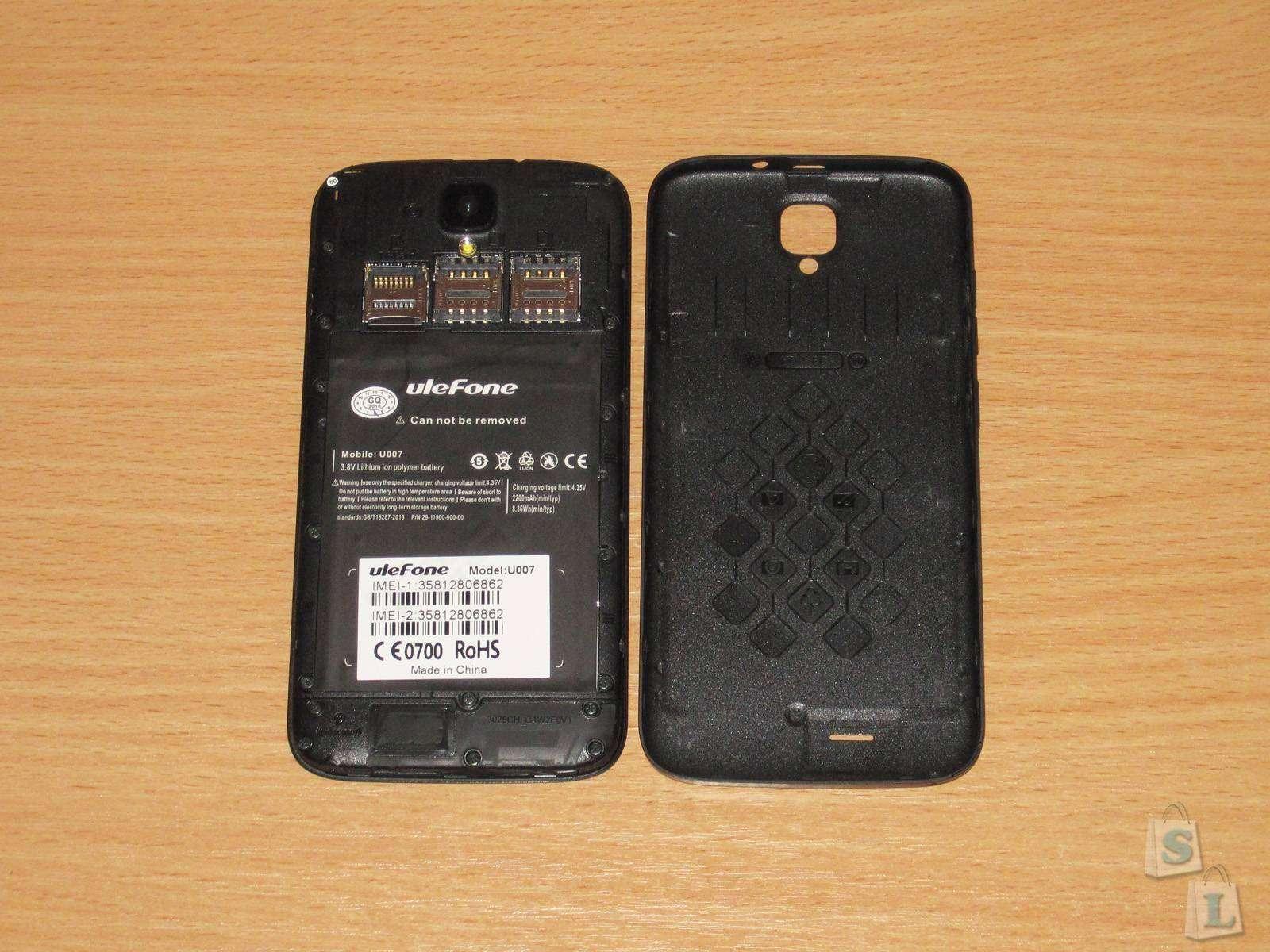 GearBest: Ulefone U007, обзор еще одного смартфона