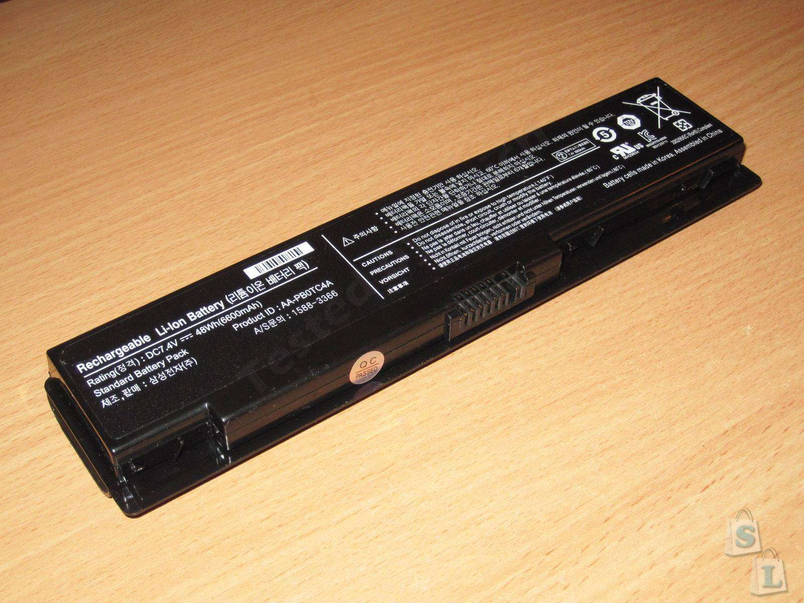 Aliexpress: Микрообзор аккумулятора для нетбука, ну очень коротко