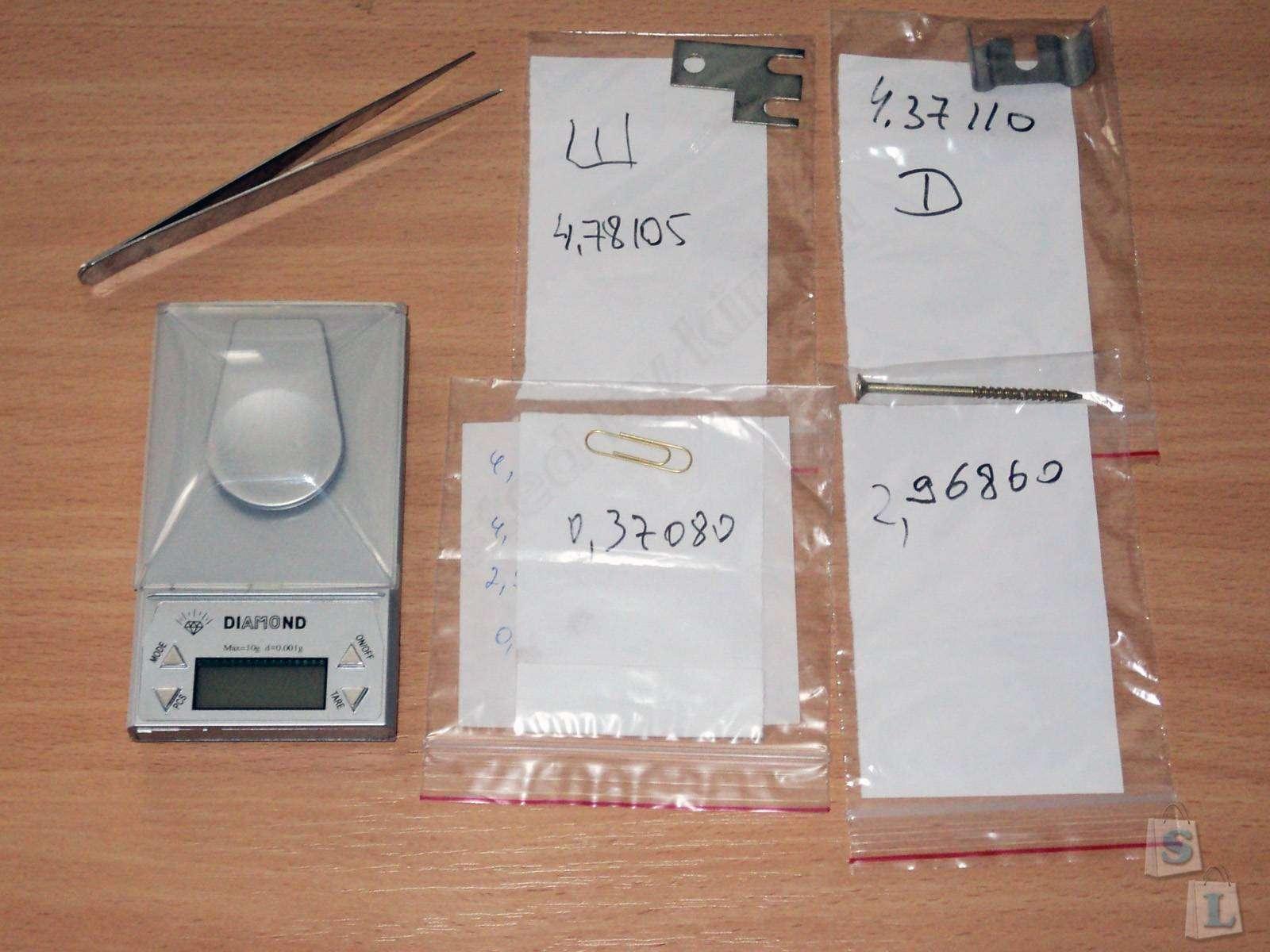 Banggood: Весы для очень легких вещей, 0.001g-10g Scales.